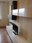 Мебель в гостиную. Горка с фасадом из крашенного МДФ